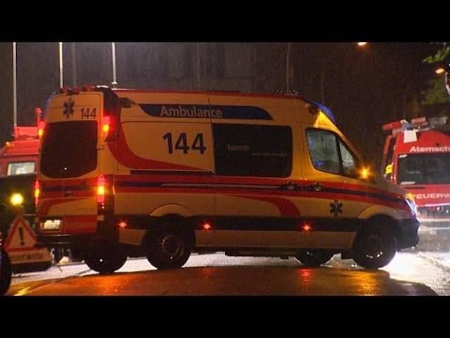Lösch- und Rettungsarbeiten im strömenden Regen: Blaulicht-Reporter Beat Kälin war in der Nacht vor Ort.