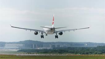 Während des WEF seien Spitzenwerte von rund 800 Flugbewegungen an einem Tag möglich. (Archiv)