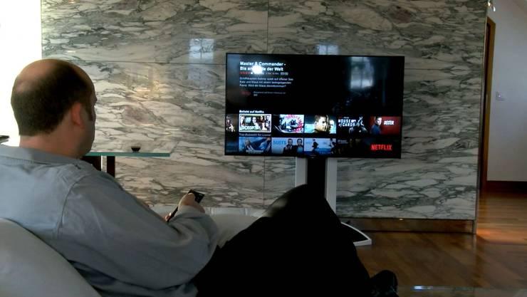 Seit Donnerstag auch in der Schweiz: Der Video-Anbieter Netflix