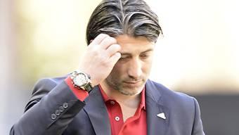 Murat Yakin schaffte in Thun mit dem FCB nicht den erhofften Sieg