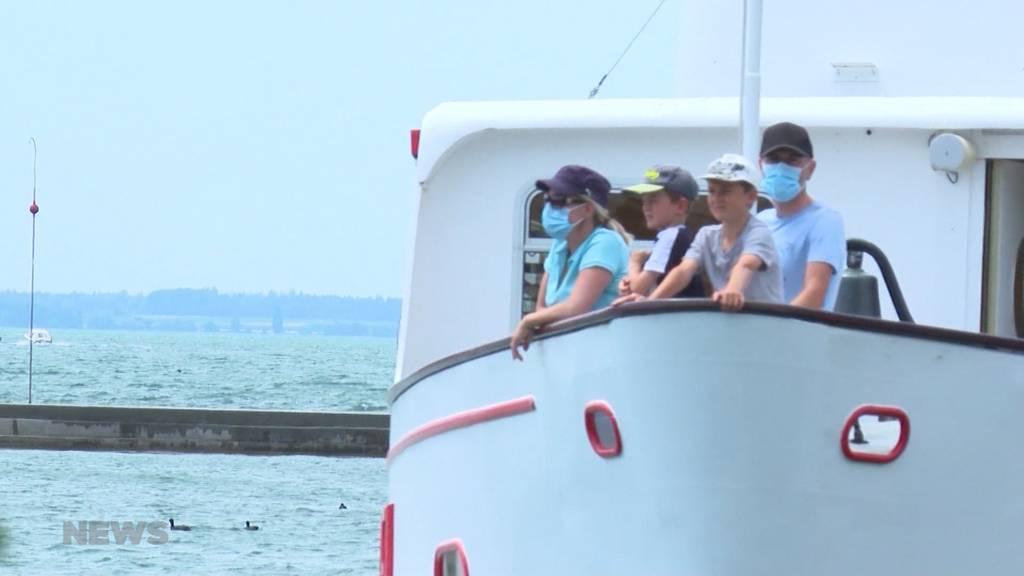 Maskenpflicht auf Schiffen: Passagiere bleiben fern