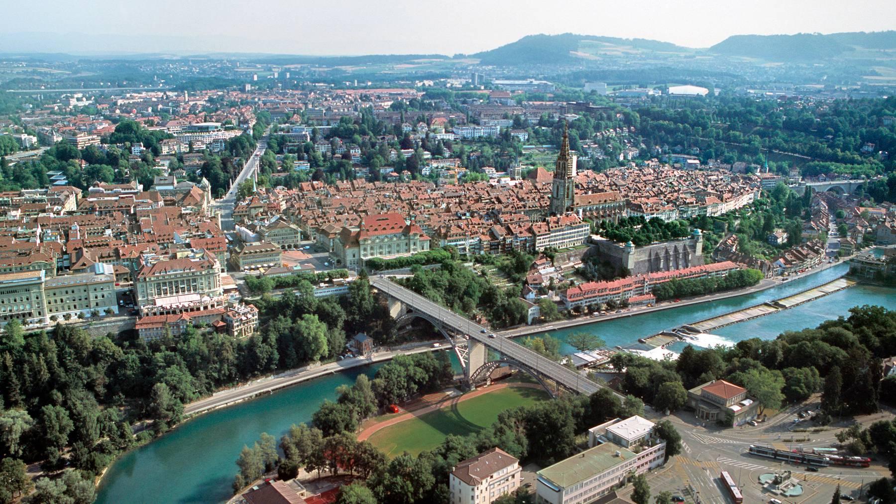 Blinde können Teile der Stadt Bern bald per App entdecken.