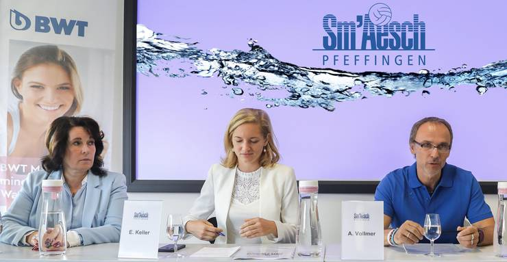 Esther Keller ist Co-Präsidentin von Sm'Aesch Pfeffingen.
