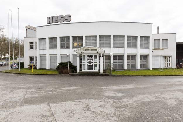 Der Hauptsitz der Hess AG in Döttingen unweit der deutschen Grenze.