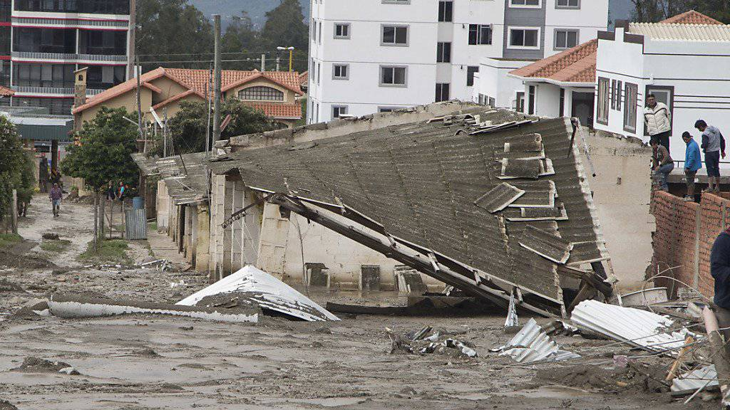 Bolivien kämpft mit den Folgen schwerer Überschwemmungen.