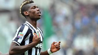 Der Franzose Paul Pogba Matchwinner für Juventus im Turiner Derby.