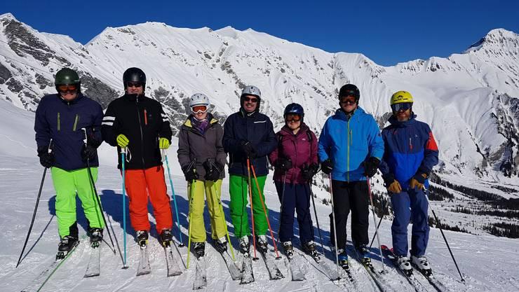 """Nicht alle hatten Zeit für eine Pause, alle anderen waren beim """"Skifahren"""""""