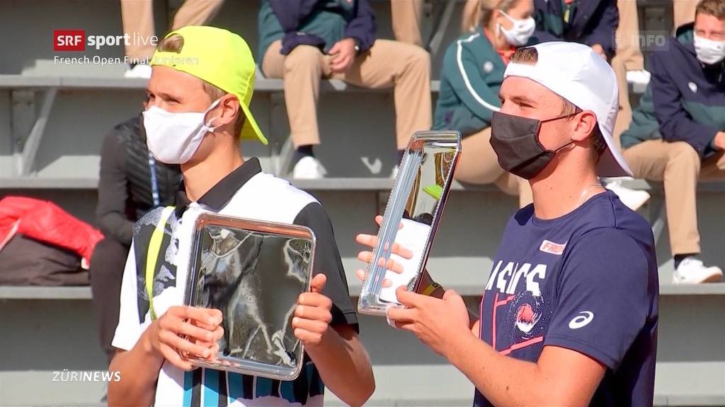 Historischer Final: Schweizer entscheiden French Open der Junioren unter sich