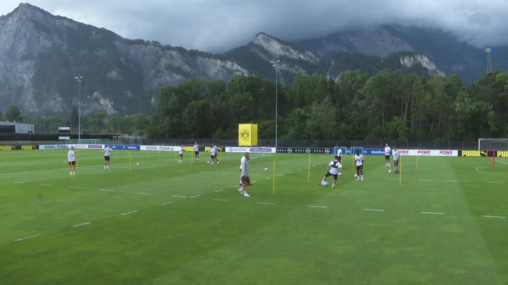 Topstars in der Ostschweiz: Der BVB trainiert in Bad Ragaz