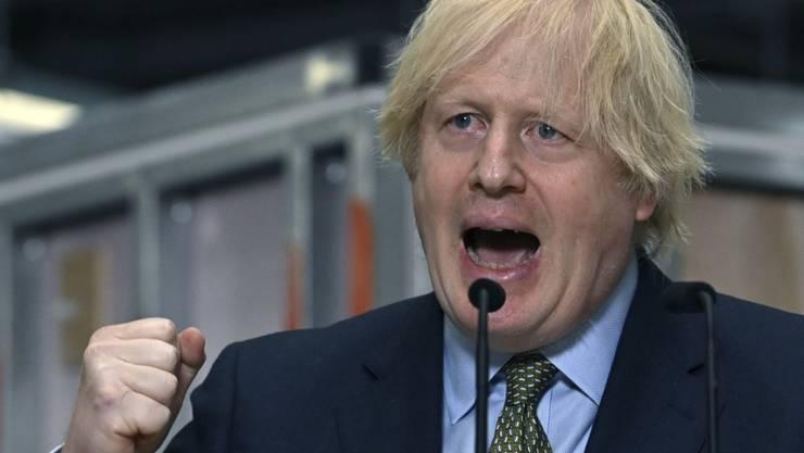 Boris Johnson, Premierminister von Großbritannien. Foto: Paul Ellis/Pool AFP/AP/dpa