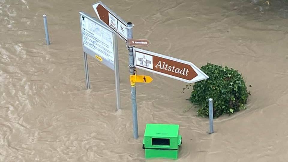 Zahlreiche Schäden und über 130 Einsätze wegen des Dauerregens