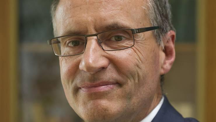 Damien Piller soll sich als Präsident der Migros-Genossenschaft Neuenburg-Freiburg bereichert haben. Bild: Gian Ehrenzeller/Keystone