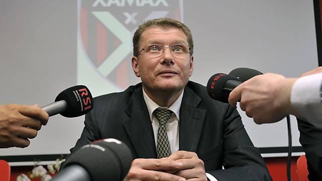 Der neue Xamax-Präsident Andrej Rudakow
