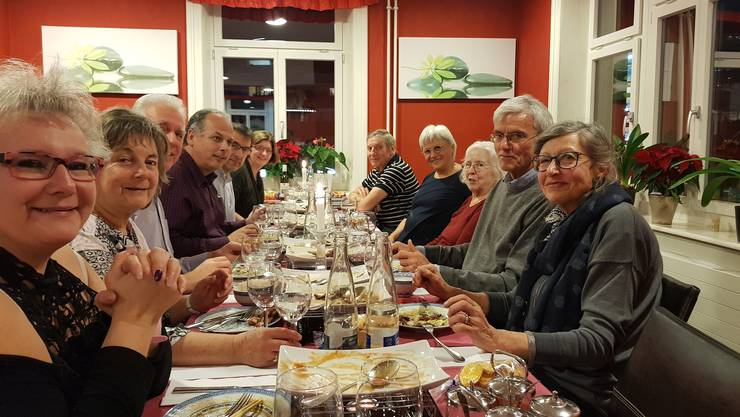 Jahresabschluss der EVP Dietikon im Restaurant «Peace House» in Dietikon