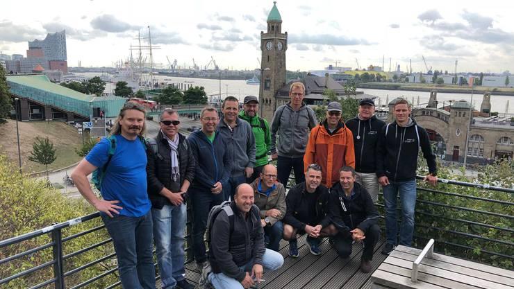 Die diesjährige Turnerreise der STV Lostorf-Männer führte ins  Ausland der Besuch der Hansestadt Hamburg stand auf dem Programm.