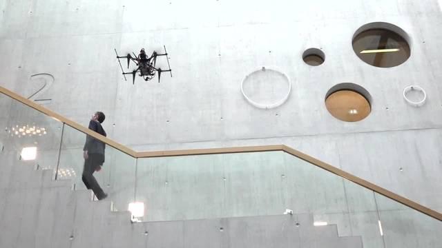 Drohnen übernehmen die Gebäudeinspektion