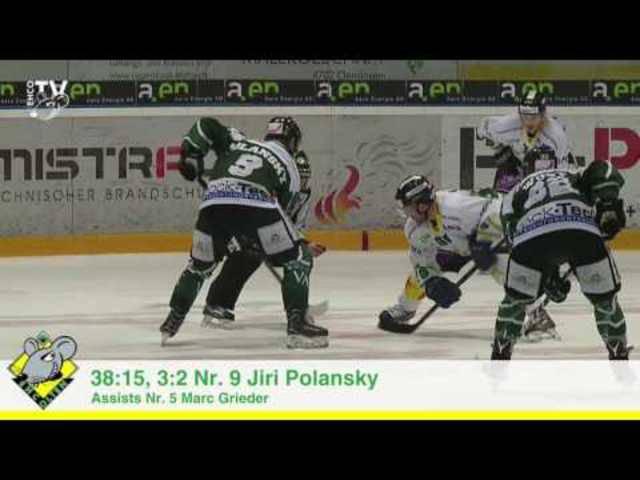 Die Highlights der Partie EHC Olten - Hockey Thurgau; 40. Runde