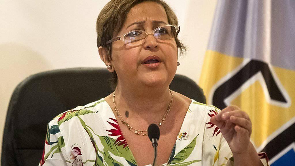 Läutet die nächste Phase im Absetzungsprozess gegen Maduro ein: Tibisay Lucena vom venezolanischen Wahlrat.