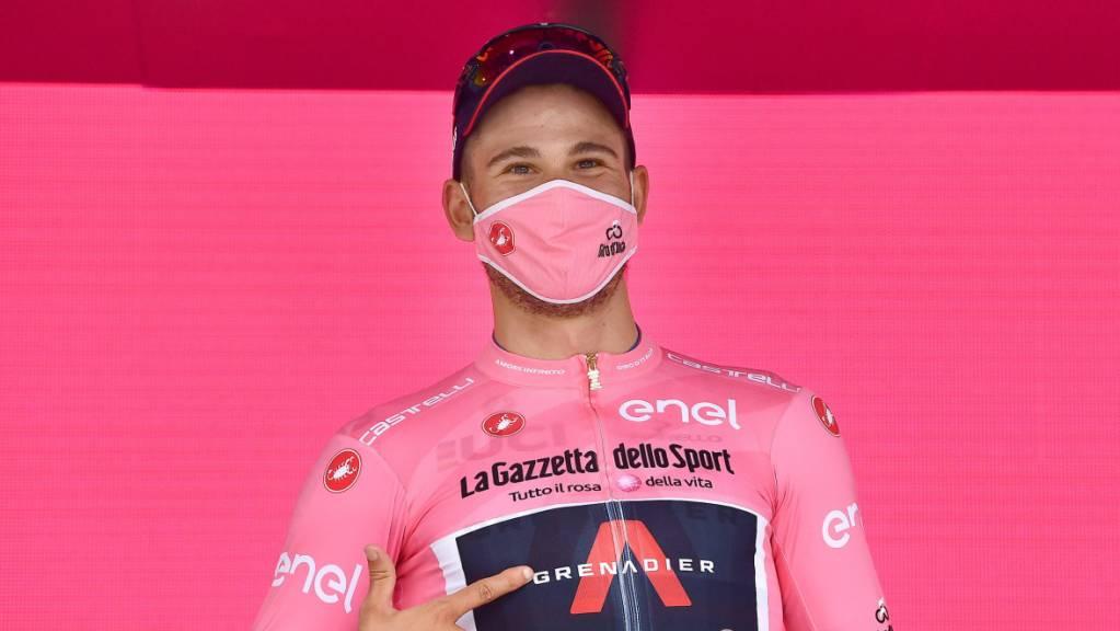 Wie im vergangenen Jahr übernahm der Italiener Filippo Ganna nach dem Auftakt-Zeitfahren die Maglia rosa