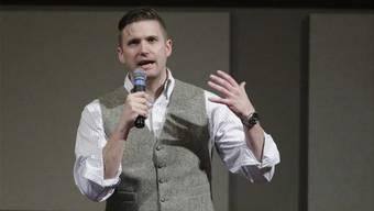 Richard B. Spencer (40) ist das Aushängeschild der rechtsradikalen Altright- Bewegung. ho