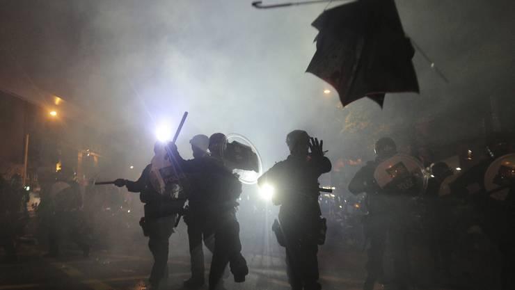 Proteste in Hongkong, 21. Juli.