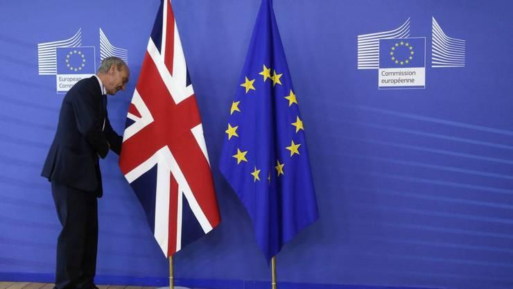 Die EU und Grossbritannien haben sich offiziell auf einen Start der Brexit-Verhandlungen am Montag festgelegt. (Symbolbild)