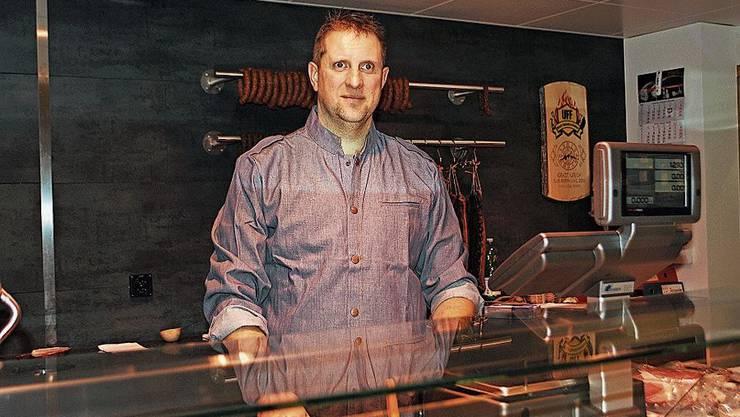 Ernst Urich bringt sein Fleisch neu zu den Kunden.
