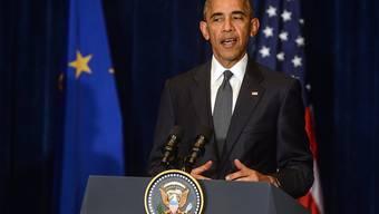 """Sorge wegen Brexit: US-Präsident Barack Obama hat am Rande des NATO-Gipfels in Warschau die europäische Integration als """"eine aussergewöhnliche Errungenschaft"""" bezeichnet."""