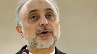 Der Aussenminister Irans, Ali Akbar Salehi (Archiv)