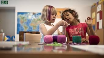 Die SP war anderer Meinung: Krippen seien keine Aufbewahrungsorte für Kinder, sondern pädagogisch wichtige Einrichtungen. (Themenbild)