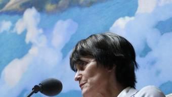 Die Schweiz soll den syrischen Nationalrat anerkennen: Dies wünschen sich syrische Oppositionlle in der Schweiz von Bundespräsidentin Calmy-Rey (Archiv)