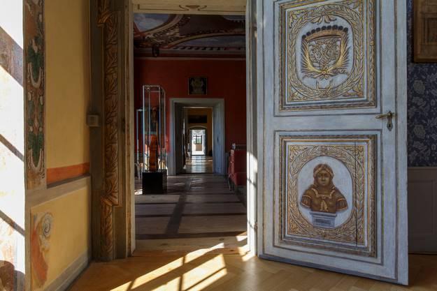 Einzigartig: Der Korridor verläuft ohne Hindernis durch das ganze Schloss.