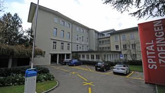 Das geplante Asylzentrum im alten Pflegeheim des Spitals Zofingen sorgt für viel Gesprächsstoff. ran