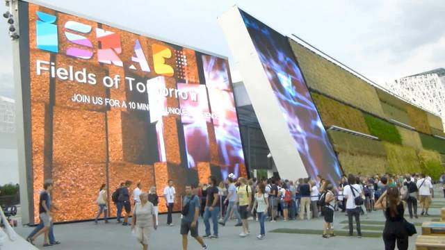 Expo Milano: Schweizer Pavillon mit über zwei Millionen Besuchern