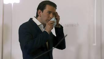 Ist seine Sparsamkeit nichts als eine Maske? Österreichs Bundeskanzler Sebastian Kurz. (Bild: Keystone)