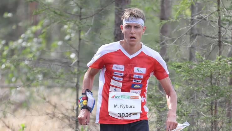 Matthias Kyburz: Kein Gedanke an den Fuss.