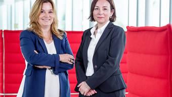 Führungsduo bei der SVA: Elisabeth Meyerhans (Präsidentin der Verwaltungskommission, links) und Nancy Wayland Bigler (Direktorin). Sandra Ardizzone
