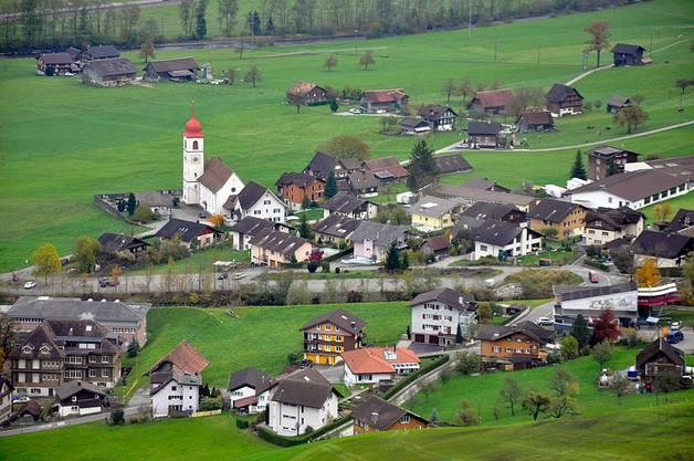 Die einseitigsten Gemeinden: Dallenwil und Wolfenschiessen. (Im Bild: Dallenwil)