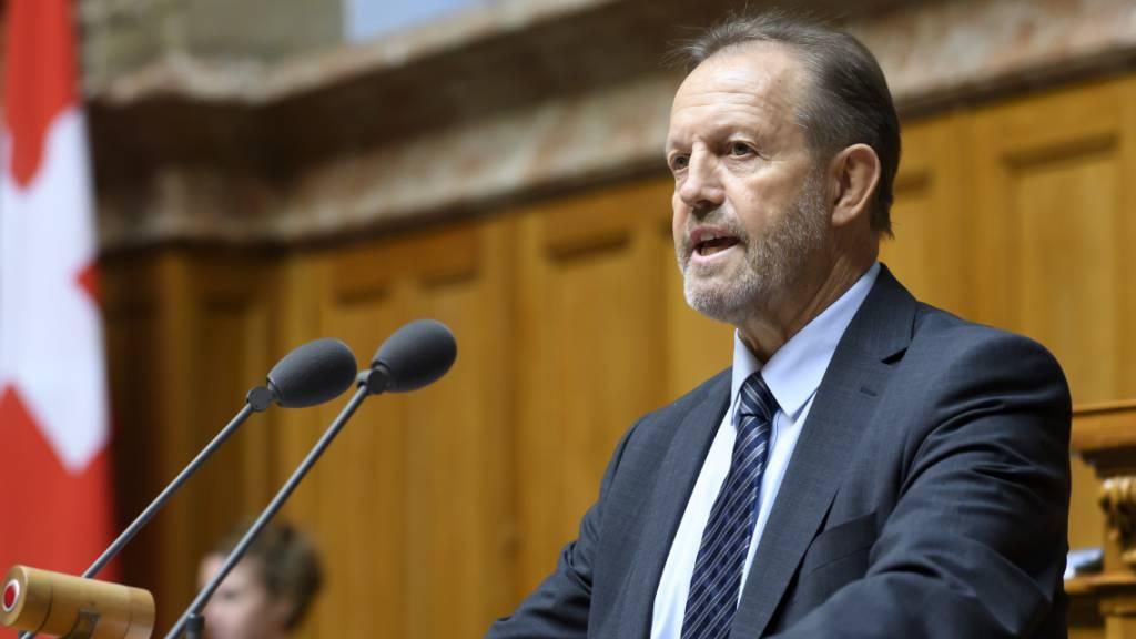 Luzerner FDP-Nationalrat Albert Vitali verstorben