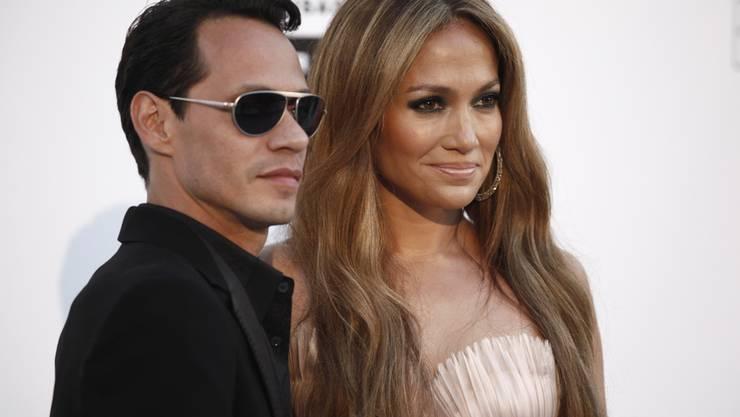 Hätten Sies gewusst? Diese Weltstars sind aus Puerto Rico: Jennifer Lopez mit ihrem Ex-Mann Marc Anthony.