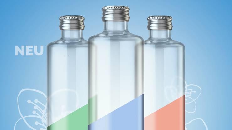 Ab Mai werden die neuen Eptinger-Glasflaschen vor allem in Restaurants anzutreffen sein.