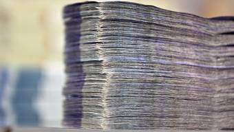 Nur die Nationalbank soll in der Schweiz Geld schaffen dürfen. (Symbolbild)