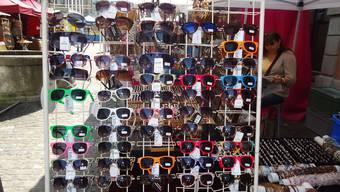 Sonnenbrillenstand