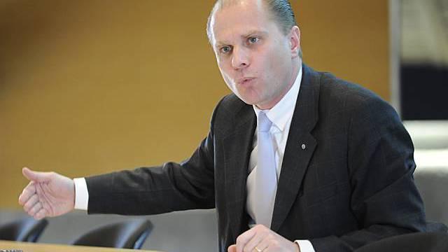 Von Migrationspolitik überzeugt: Waadtländer Justizdirektor Leuba (Archiv)