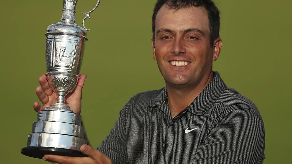 Francesco Molinaris grösster Triumph: Sieger am British Open, dem ältesten Turnier der Welt