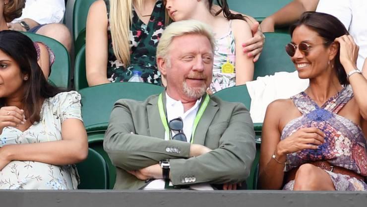 In Wimbledon trotz Finanzproblemen immer noch gern gesehen: Boris Becker