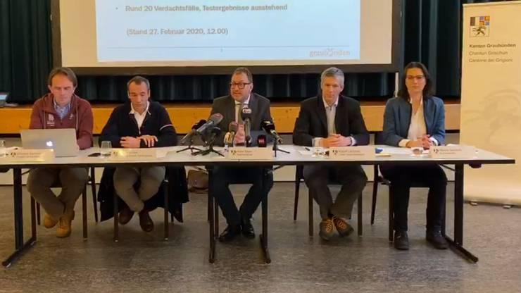 Der Kanton Graubünden informiert zu den zwei Corona-Virus-Fällen