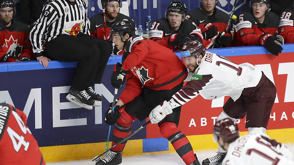 Die Kanadier finden sich an der Hockey-WM in Riga noch überhaupt nicht zurecht