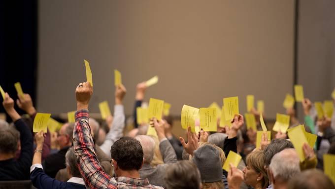 In mehreren Gemeinden haben Gemeindeversammlungen stattgefunden (Symbolbild).