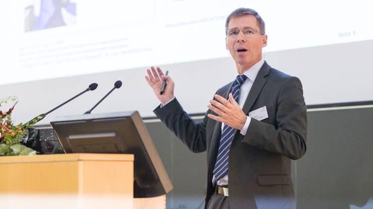 Joël Mesot, Direktor des PSI.